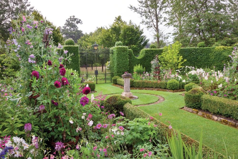 The Sundial Garden, Highgrove August 2012.