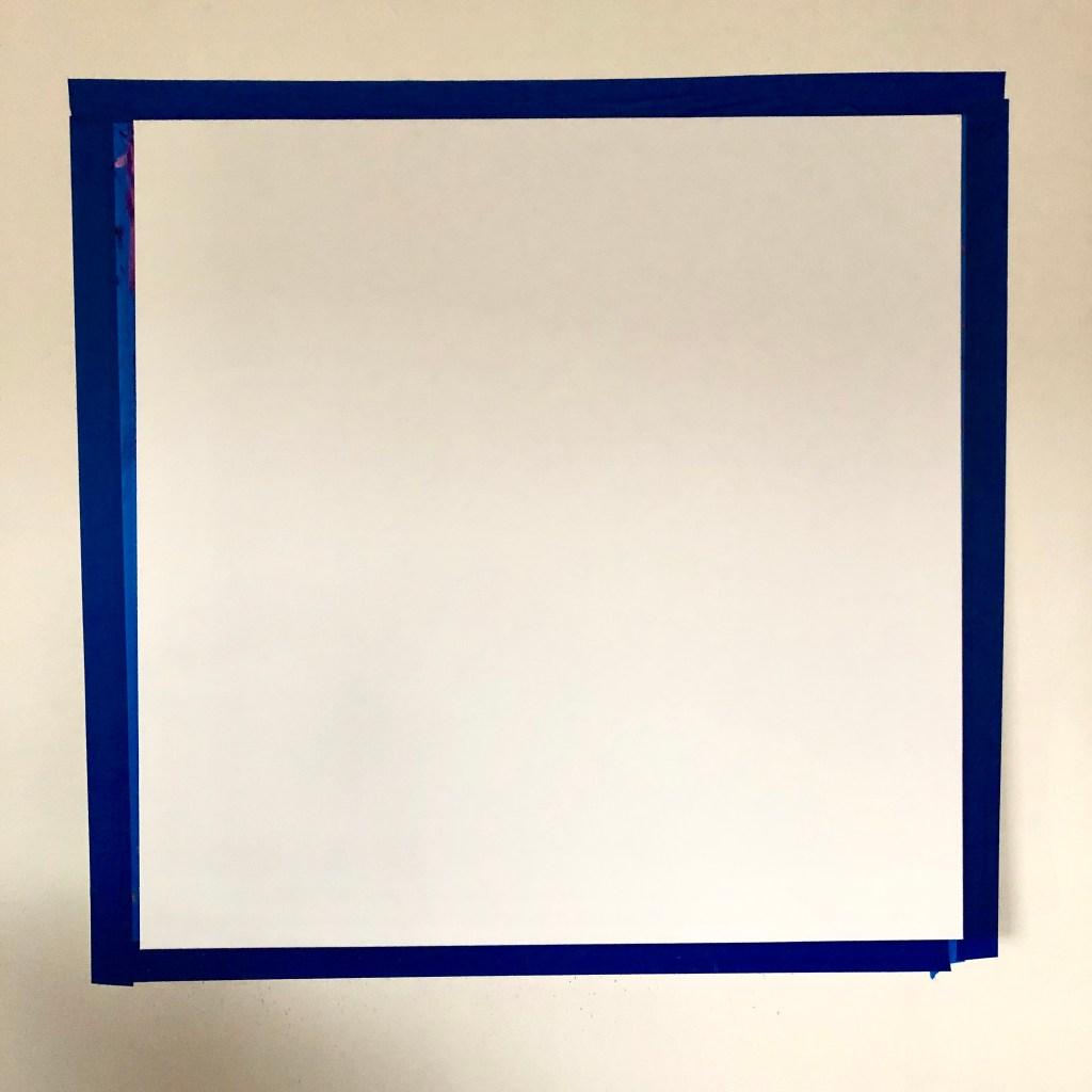 "blank canvas, 36x36"""