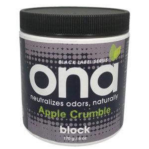 ONA BLOCK 175g - Apple crumble