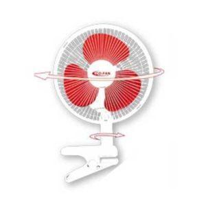 Ventilatore Oscillante a Clip 25cm