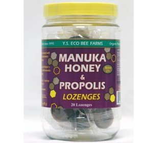 Manuka Honey & Propolis Lozenges, Active 15+, 20 Lozenges, 3.2 oz (92