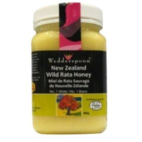 Wedderspoon Honey New Zealand 100 Percent Raw Organic Wild Rata , 17.6 Ounce