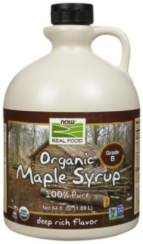 Now Foods 100% Pure Maple Syrup, 64 Fl Ounces
