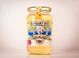 Hungary Bees Wild Acacia Honey 16oz