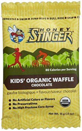 Honey Stinger Kid's Organic Chocolate Waffle, 0.5 Ounce (Pack of 6)