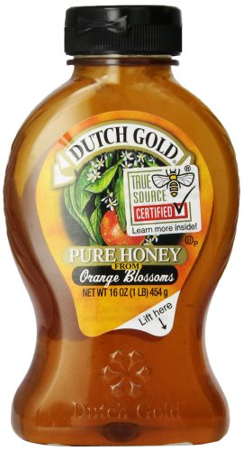 Dutch Gold Pure Honey from Orange Blossom — 16 fl oz