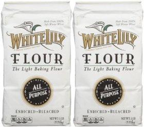 White Lily All Purpose Flour – 80 oz – 2 pk