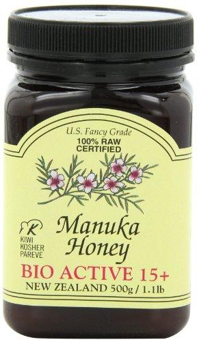 Pacific Resources Manuka Honey Bio Active, 15 Plus, 1.1 Pound