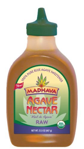 Madhava Organic Agave Nectar- Raw, 23.5-Ounce (Pack of 3)