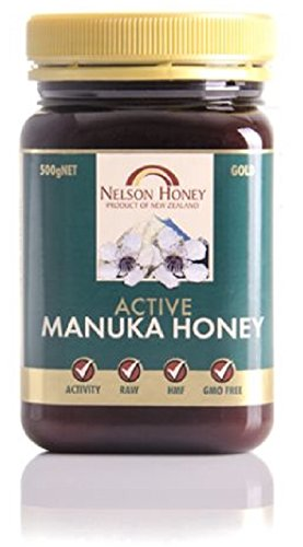 Nelson Honey Gold Super 300+ MGA Manuka Honey 500g