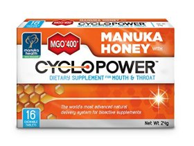 Cyclopower with Manuka Honey Mgo400+ for Oral Health
