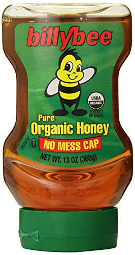 Billy Bee Organic Liquid Honey Upside Down Squeeze 13
