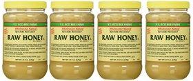 Y.s. Eco Bee Farms Raw Honey – 22 Oz Jars (4 Count (22oz Each))