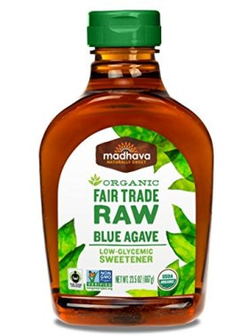 Madhava Raw Agave Nectar, 23.5 Ounce (Pack of 6)