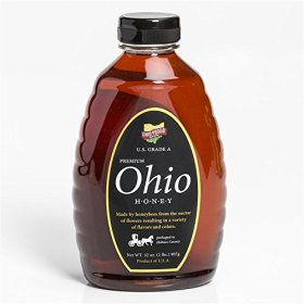 Tonn's Pure Premium Ohio Honey 32 oz Premium Ohio