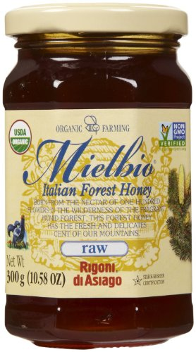 Rigoni Di Asiago Organic Raw Forest Honey, 10.58 oz