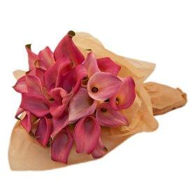 Pink Calla Lily Bouquet, Callafornia Callas