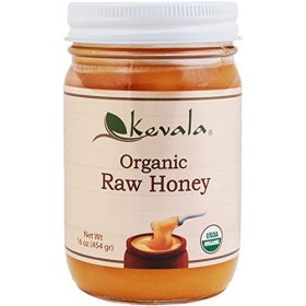 Kevala Organic Spreadable Raw Honey, 16 Ounce