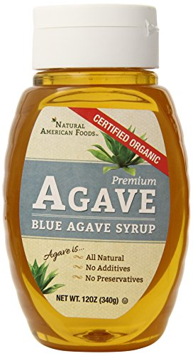 Natural American Foods Blue Agave, Organic Honey, 12 Ounce