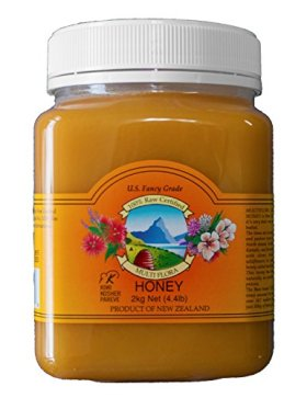 Multiflora Honey, 4.4 Pound Jar