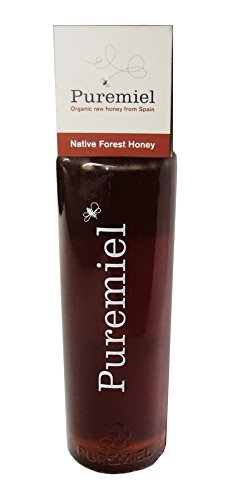 Puremiel Raw and Organic Native Forest Honey, 12.3 Ounce