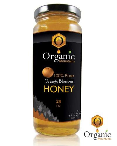 Organic Mountains 100% Pure Honey – Orange Blossom (Raw & Unfiltered)