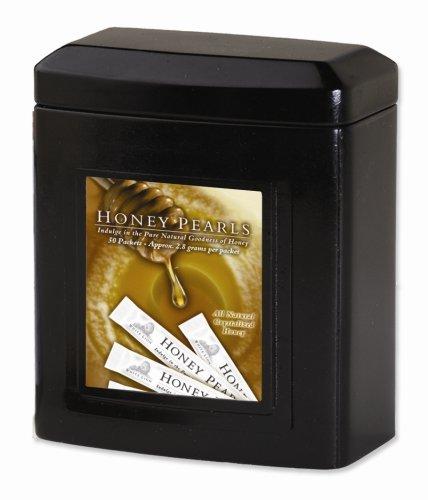 Honey Pearls, 40 Single Serving Sticks, White Lion Tea