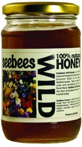 SeeBees Wild Honey (16oz)
