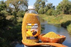 Fresh Bee Pollen Pure Raw Natural Nebraska Bee Pollen 1.5lb Jar