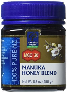 Manuka Health MGO 30+ Manuka Honey (5+), 250gm – 100% Pure New Zealand Honey