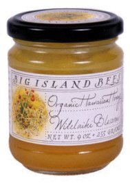 Organic Wilelaiki Blossom Raw Honey by Big Island Bees (9 ounce)