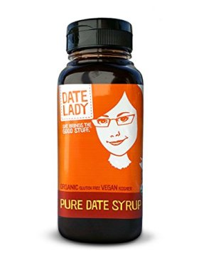 Date Lady Organic Pure Date Syrup, Squeeze Bottle, 12 oz