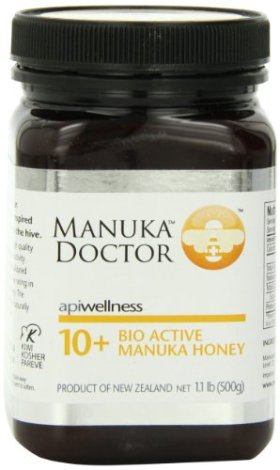 Manuka Doctor Bio Active 10 Plus Honey, 1.1 Pound