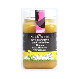 Wedderspoon Wild Dandelion Honey – 17.6 Oz