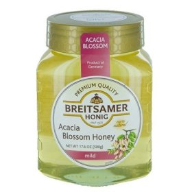 Breitsamer Honey in Jar, Acacia Mild, 17.6 Ounce (Pack of 6)