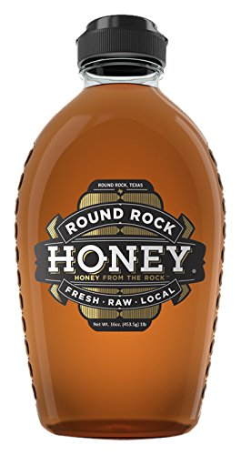 Round Rock Honey – Fresh, Raw, & Local Bottle, 1 lb