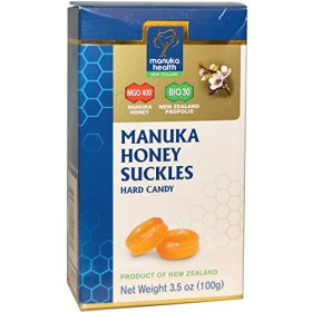 Manuka Health MGO 400 Manuka Honey and Bio 30 Propolis Suckles, 3.5 Ounce