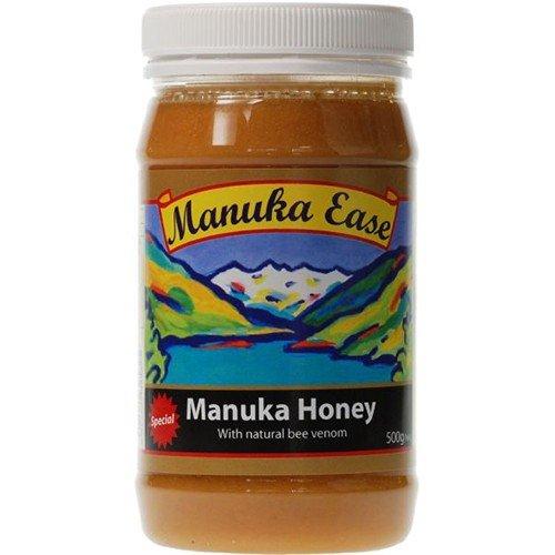 (4 PACK) – Nelson Honey – Manuka Ease Bee Venom Honey | 500g | 4 PACK BUNDLE