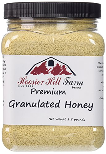 Hoosier Hill Farm Granulated Honey Crystals, 1.5 lb