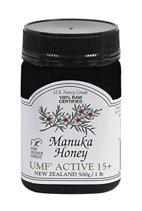 Pacific Resources Manuka Honey UMF Active, 15+, 16 Ounce Jar