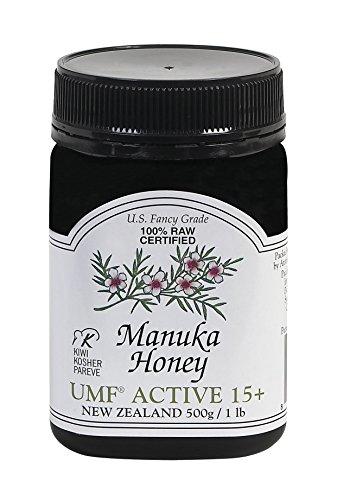 Pacific Resources Manuka Honey UMF Active, 15+, 16 Ounce Jar