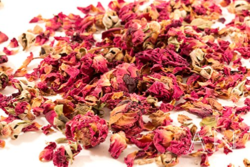 Aisev Naturals® – Rose Buds and Petals, Red – 8oz.
