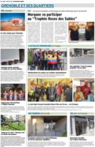 Article Flowers 2.0, Dauphiné Libéré