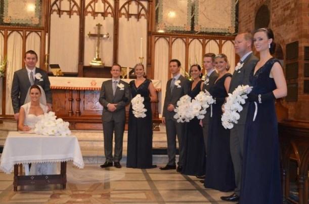 Teardrop Wedding Bouquet