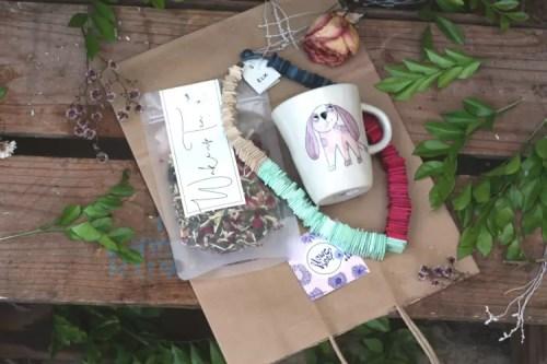 Rainbow & Tea Gift Bag