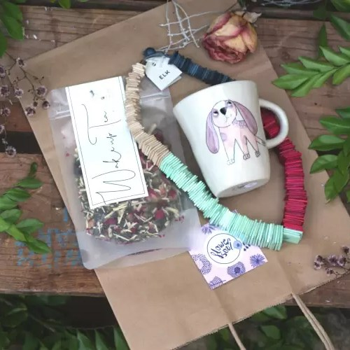 Rainbow & Tea Gift Bag