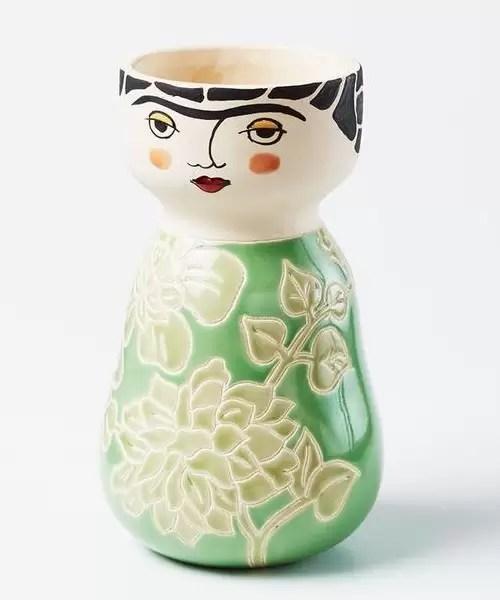 Jones & Co Frida Face Vase