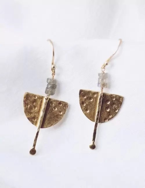 Finders & Makers Labrodite Earrings