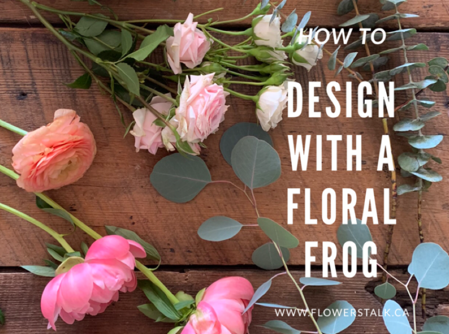 How To Design With a Floral Frog