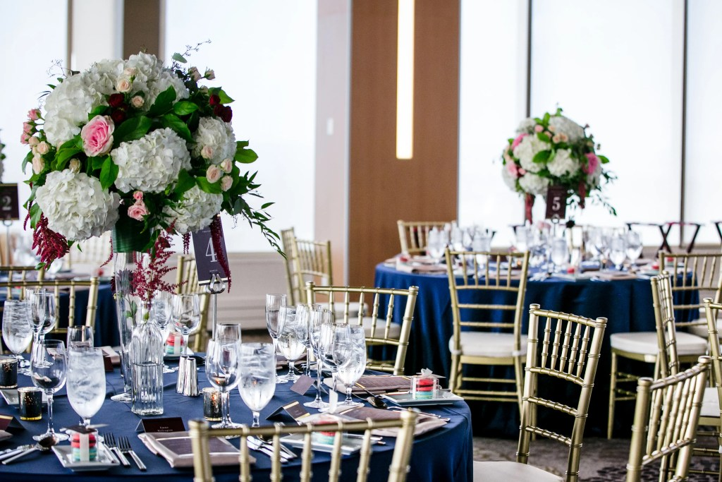 Tall Wedding centerpiece